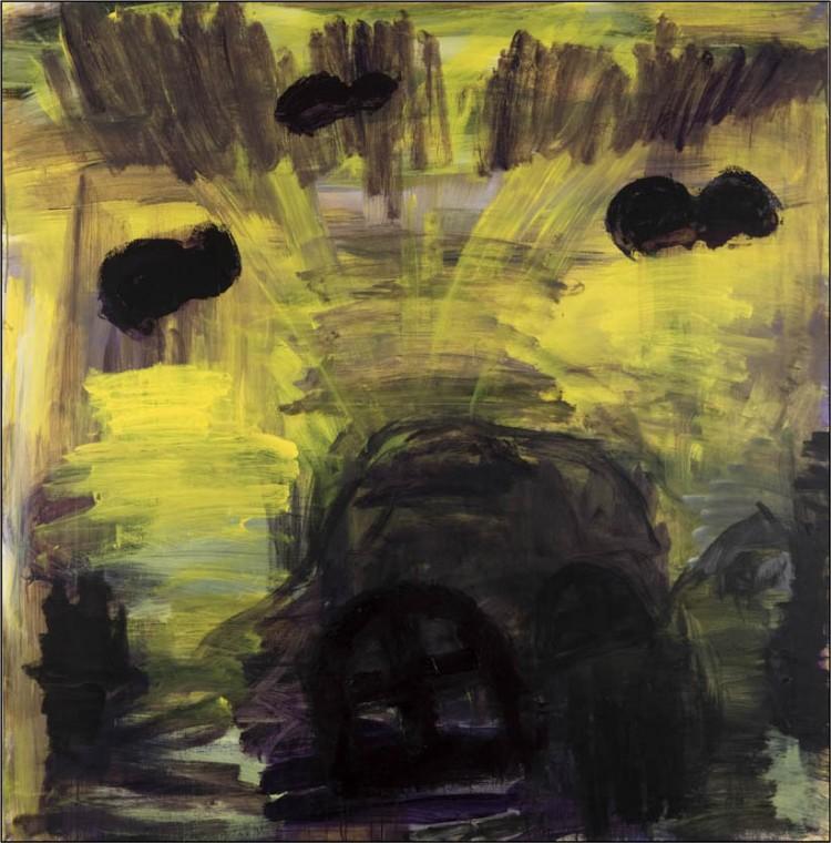 Sigur Ros; 2010; akril, platno / acrylic, canvas / Acryl, Leinwand; 180 x 180 cm