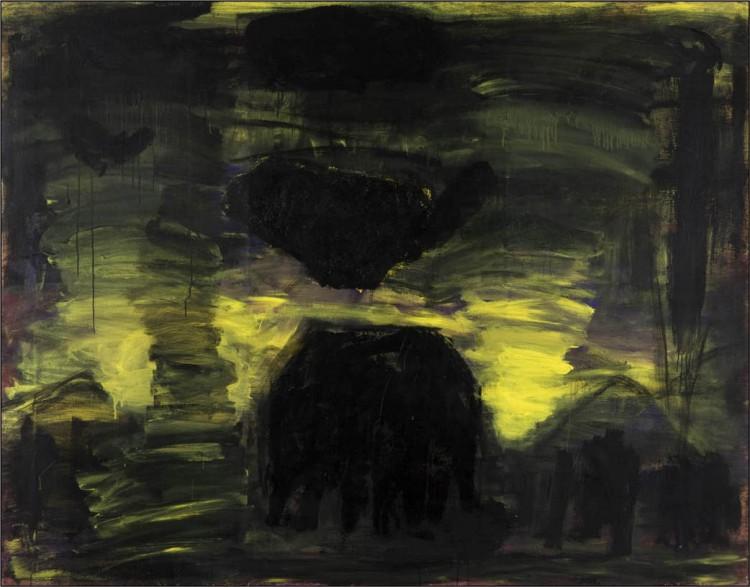 Sigur Ros; 2010; akril, platno / acrylic, canvas / Acryl, Leinwand; 170 x 210 cm