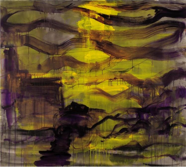 Krajina, 2013, 170 x 190, akril