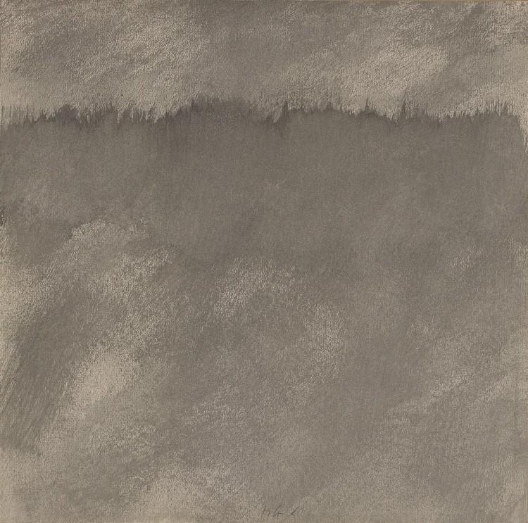 Poizkus total akvarela / The Total Watercolour Experiment / Versuch eines Totalaquarells, 1981, akvarel / watercolour / Aquarell, 71 x 71 cm