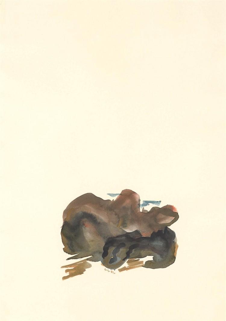 Zagorske pravljice / Zagorje Stories / Zagorje Märchen, 1994, akvarel / watercolour / Aquarell, 60 x 43 cm