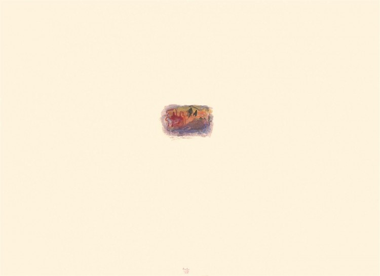 A.L.V.N., 1995, akvarel / watercolour / Aquarell, 43,5 x 60 cm