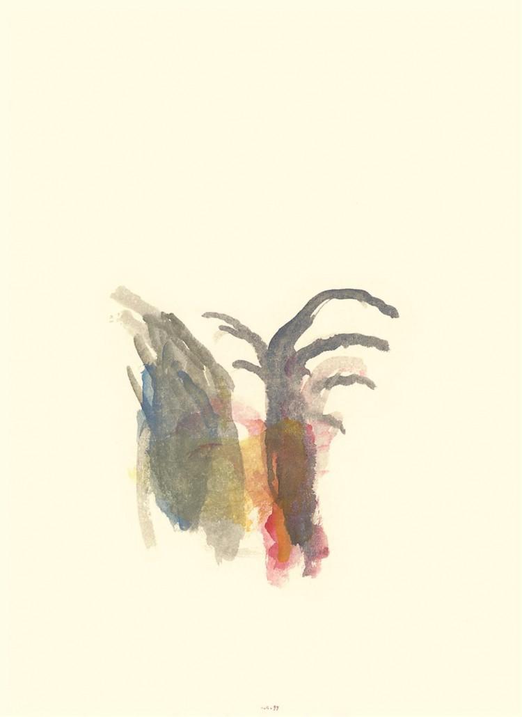 Krajina / Landscape / Landschaft; 1997; akvarel / watercolour / Aquarell; 67 x 49,5 cm Kobilje; 1997; akvarel / watercolour / Aquarell; 12,5 x 29 cm Kobilje; 1996; akvarel / watercolour / Aquarell; 49,5 x 67 cm