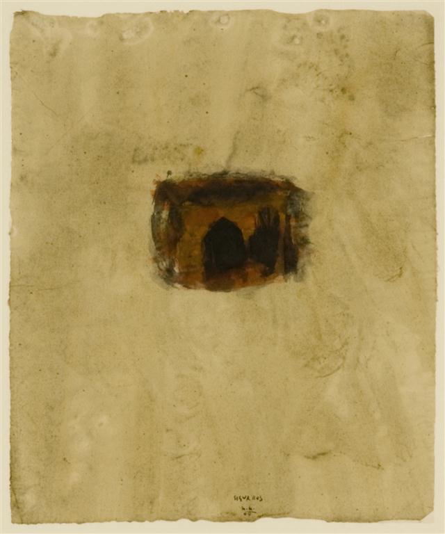 SigurRos; 2009; akvarel / watercolour / Aquarell; 48 x 40 cm