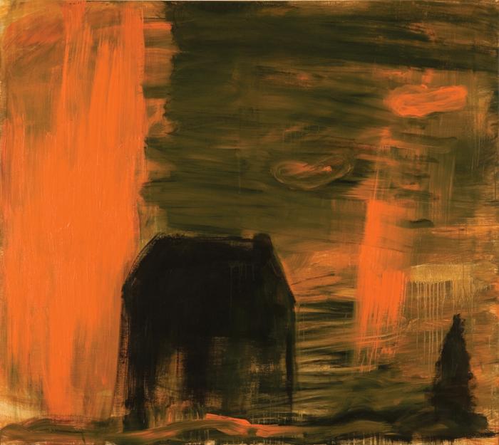 Sigur Ros; 2009; akril, platno / acrylic, canvas / Acryl, Leinwand; 170 x 210 cm