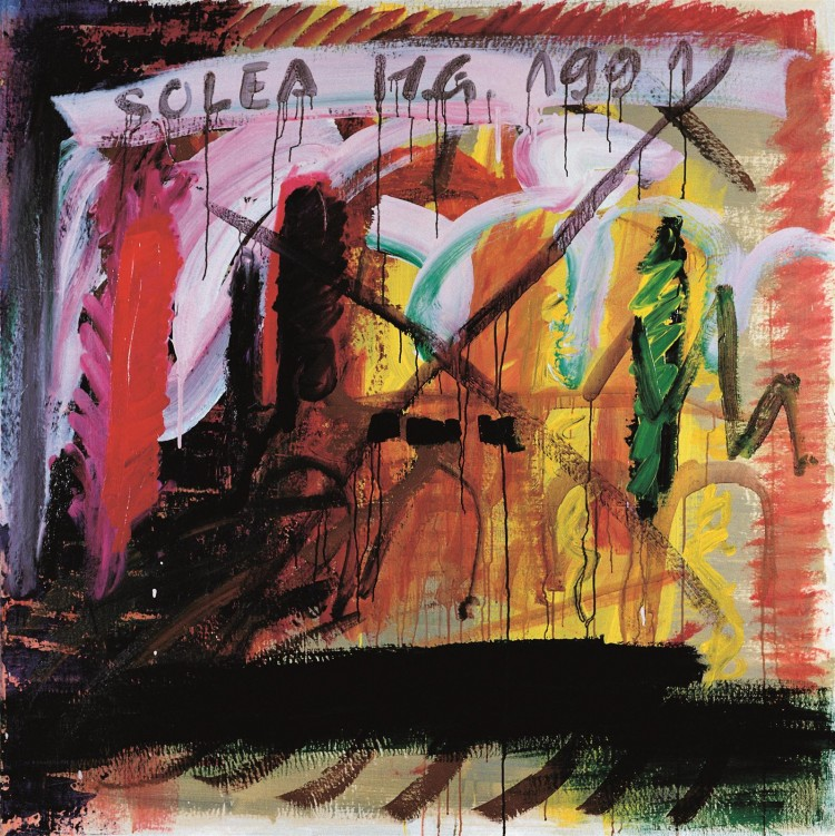Solea / Solea / Solea, 1991, akril, platno / acrylic, canvas / Acryl, Leinwand, 160 x 160