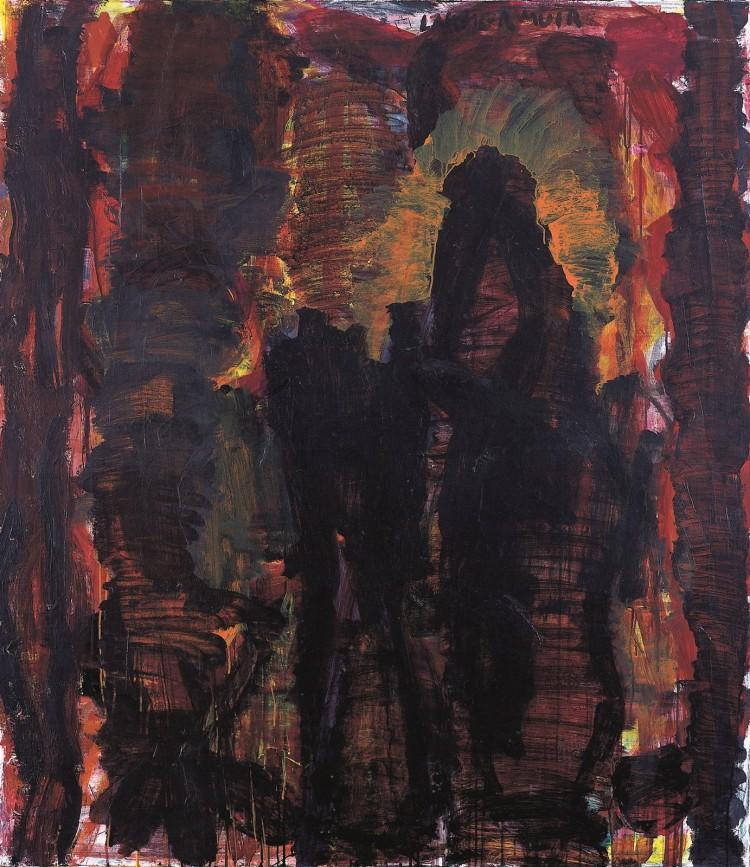 Lammermuir , 2003, akril, platno / acrylic, canvas / Acryl, Leinwand, 158 x 138 cm