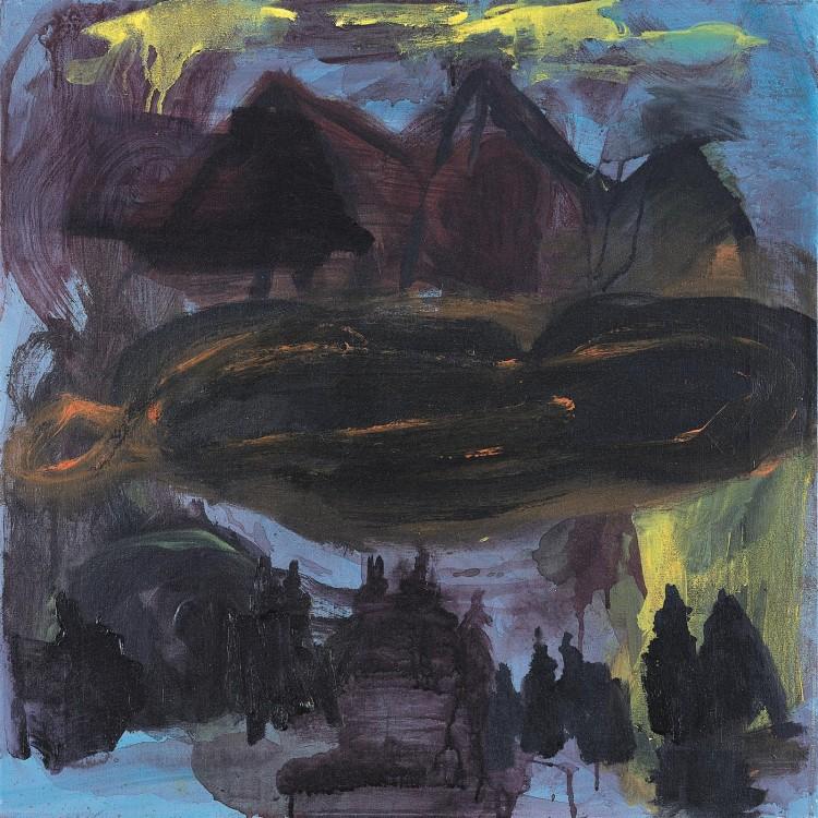 Pesmi za Nico (My only Child) / Songs for Nico (My only Child) / Lieder für Nico (My only Child), 2006, akril, platno / acrylic, canvas / Acryl, Leinwand, 70 x 70 cm