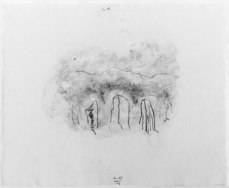 S.V., 2014, 50x67cm, oglje