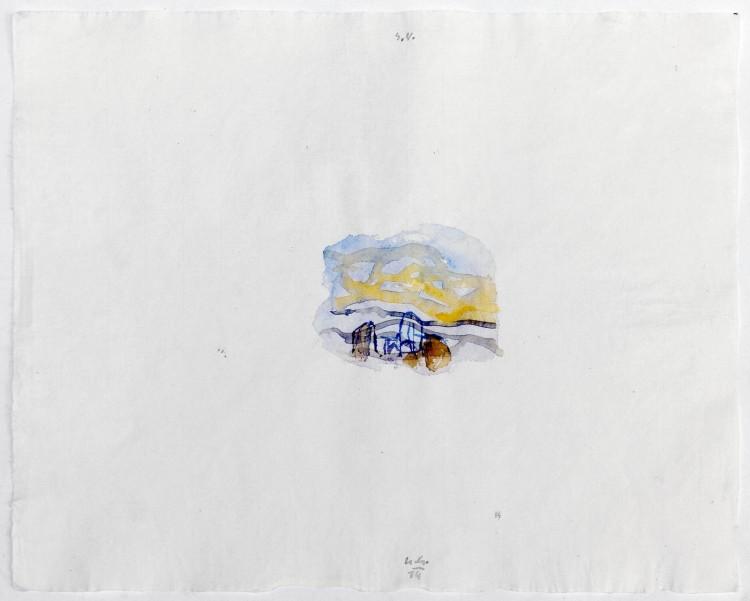 S.V., 2014, 30x50cm, akvarel