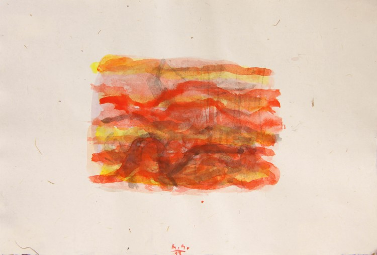 Krajina, 2013, 30x20cm, akvarel