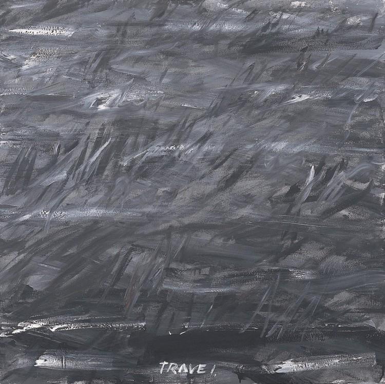 Trave l / Grass l / Gras l, 1981, akril, platno / acrylic, canvas / Acryl, Leinwand, 180 x 180 cm