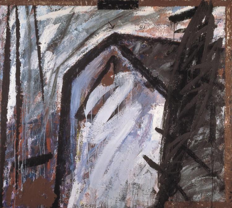 Ramantik Rožec, 1984 – 87, akril, platno / acrylic, canvas / Acryl, Leinwand, 180 x 200 cm