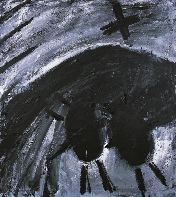 Sweet Baby, 1985, akril, platno / acrylic, canvas / Acryl, Leinwand, 180 x 360 cm