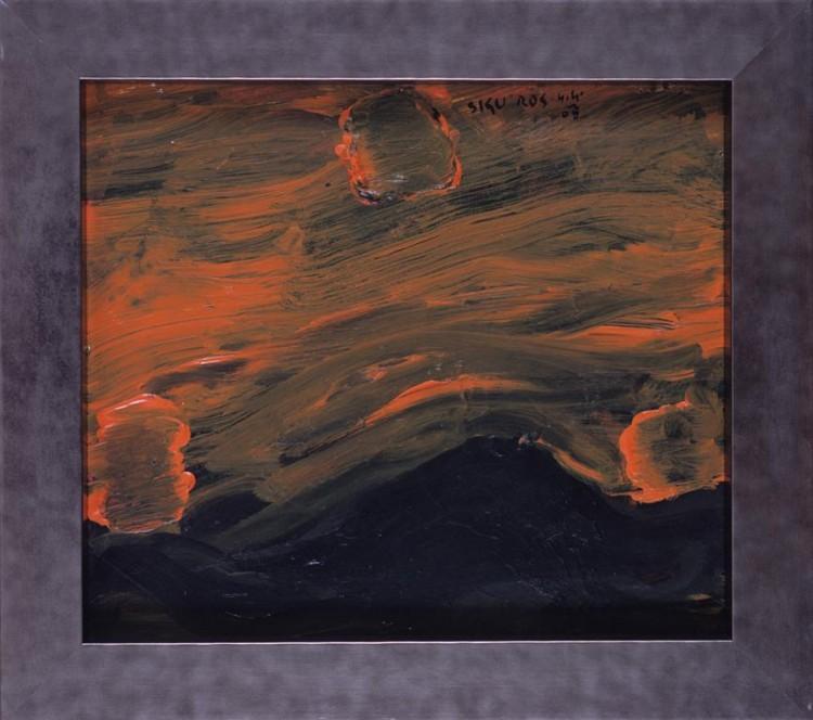 Mračenja; 2008; ofset, grafit, papir / offset, graphite, paper / Offset, Grafit, Papier; 37 x 42,5 cm