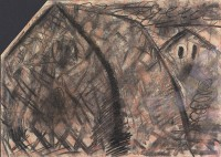 P. N. M. K., 1986, mešana tehnika, mixed media / gemischte Technik, 50 x 70 cm