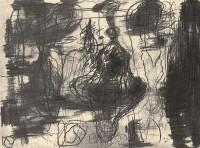 A.L.V.N., 1995, grafit, papir / graphite, paper / Grafit, Papier, 32,5 x 44,5 cm