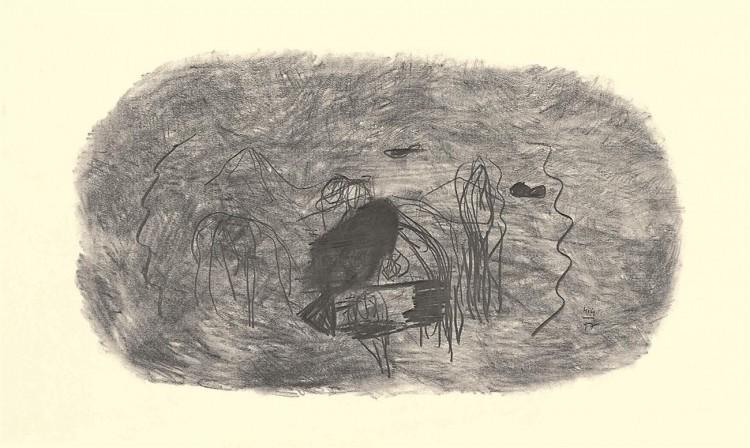 Nostalgije / Nostalgias / Nostalgien, 1997, grafit, papir / graphite, paper / Grafit, Papier, 39 x 65 cm