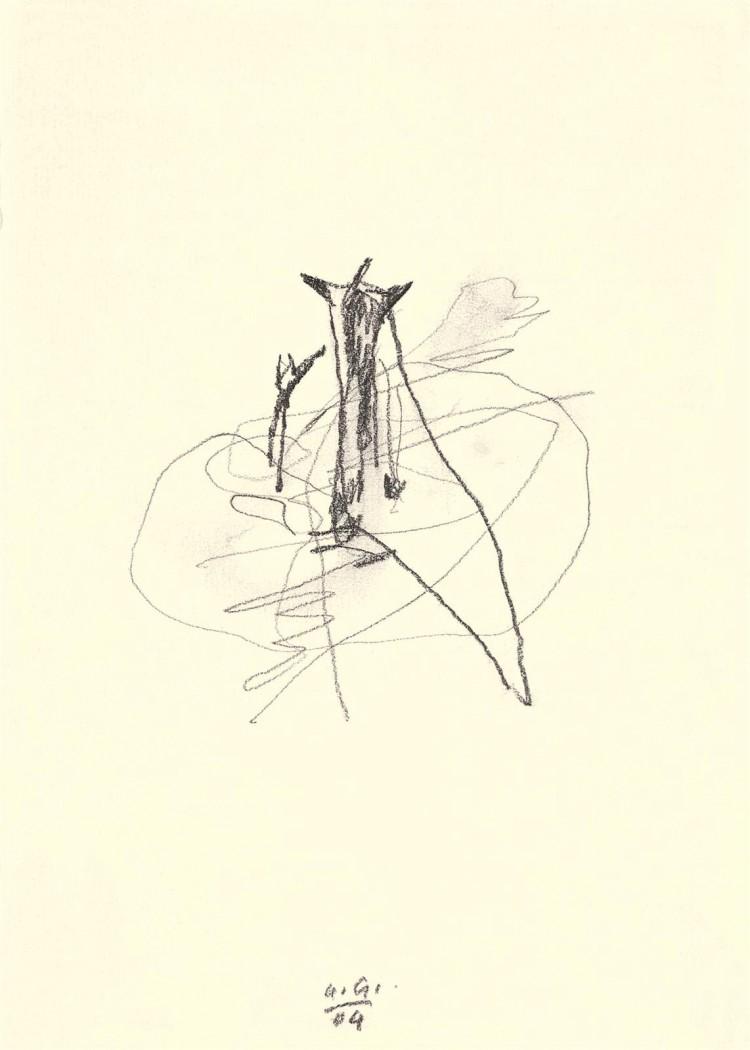 Novembrske elegije / The November Elegies / Novemberelegien, 2004, grafit, papir / graphite, paper / Grafit, Papier, 21 x 15 cm